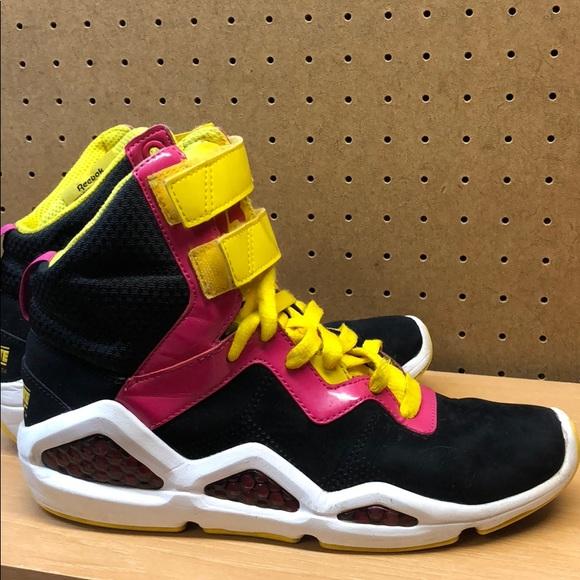 Reebok Hexalite Pump High Women s Sneakers sz 6.5.  M 5aefdc108af1c5af46558595 f5288b082